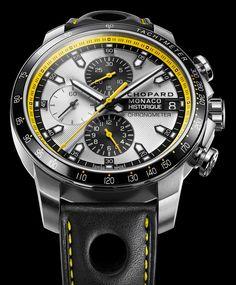 Chopard Monaco Chronograph. The bumblebee.