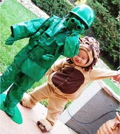 Easy DIY Halloween costumes for kids--- The mummy is perfect for Andy:)  -Already have cream long johns; so all we need is medical tape.