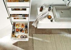 Orgalux - lade-indeling voor de badkamer   Badkamers   Pinterest