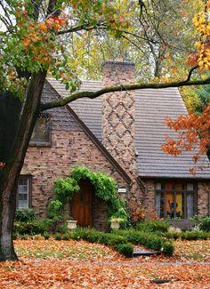 Autumn House, Boise, Idaho photo via vonnie. Love the Tudor stu le house