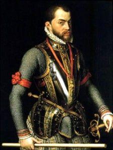 Felipe ll.  Modernizó y reforzó la administración de la monaquía y declaró tres veces la bancarrota. Mayor expansión del imperio Español.