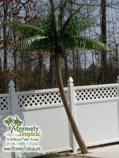 how to make a palm tree out of pvc pipe
