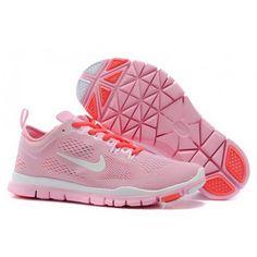 Women Nike Free 5.0 Shoes Pink White