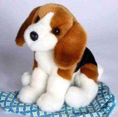 Beagle Plush Stuffed Animal 12 Inch $18.95