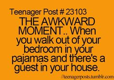 Haha has had happened quite a few times for me