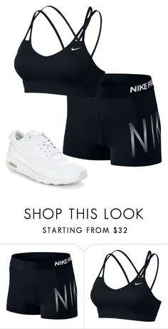 """""""Untitled #483"""" by stephaniasant on Polyvore featuring NIKE"""