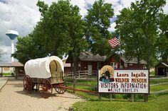 Laura Ingalls Wilder Museum, childhood home of writer Laura Ingalls Wilder, Walnut Grove, MN.