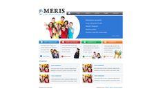 Strona www dla Centrum Edukacji Meris. Więcej projektów na http://www.13design.pl/