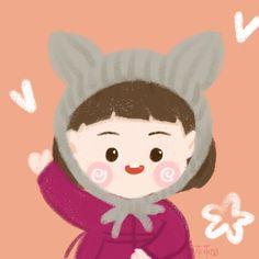 Anime Chibi, Character Design, Teddy Bear, Profile, Cartoon, Manga, Girls, Cute, Animals