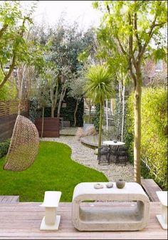 Comment décorer un petit jardin: 18 idées simples et créatives   Decoration Interieure