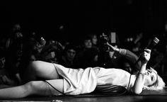 Debbie Harry, Hammersmith Odeon, London. Photo Denis O'Regan.
