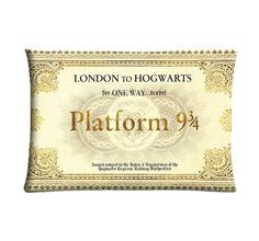 Platform Harry Potter PILLOW Custom Pillow Case by Monokromes, $16.99