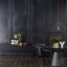 Wood , cement and light in your Perfect industrial home