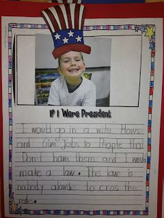 First Grade Smiles: Election Day and Veteran's Day
