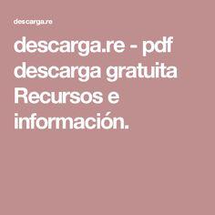 descarga.re-pdf descarga gratuita Recursos e información.