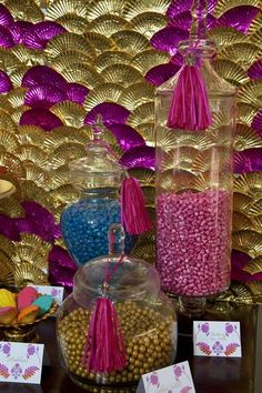 A festival of colour- HOLI Inspired Arabian Party, Arabian Nights Theme, Sweet Corner, Creative Desserts, Candy Table, Rocks And Minerals, Sweet 16, Special Day, Wedding Anniversary