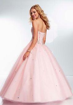 Mori Lee Tulle Skirt Prom Dress 95107