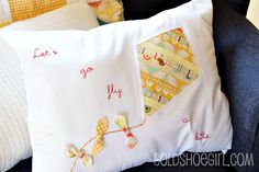 Quilt Story: Fly a kite quilt from Gold Show Girl...adorable!!