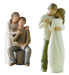 Demdaco Willow Tree Figurines by Susan Lordi: Promise and You and Me