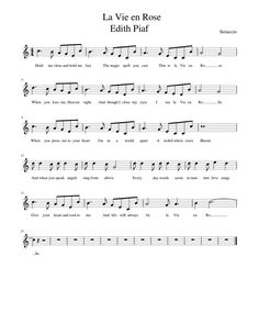 Beginner Piano Music, Piano Sheet Music Pdf, Easy Sheet Music, Violin Music, When You Kiss Me, Kalimba, Easy Piano, Piano Lessons, Ukulele
