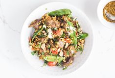 Healthy Beef recipe   Beef biryani with flaked almonds
