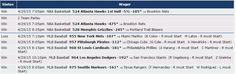 Mira cómo nos fue el 29/4 en las apuestas con las predicciones de Zcode. Ingresa y comienza a ganar www.zcode.mx #Pronosticosdeportivos #prediccionesdeportivas #deportes #apuestas #loteria #Sportbooks #gambling #College #NHL #Soccer #NFL #Europe #Futbol #NAACF #NBA #apuestas #futbol #tipster #tips #free #Sports #deportivas #tenis #picks #betting #pronosticos #dinero #ganar #bets #football #baloncesto #apuestasdeportivas #NFL #college #horses
