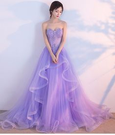 1a20aac74c 59 Best Lilac Prom Dresses images