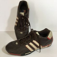 ae183b624b8b Details about Team Adidas Goodyear Adi Racer Size 10 Lo 2005 Race Car  Driver Racing Shoes
