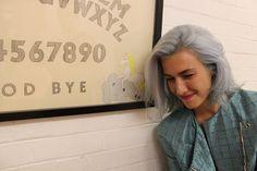 Violet hair color Bleach London