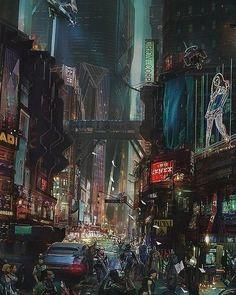 Times Square 2099 : Cyberpunk