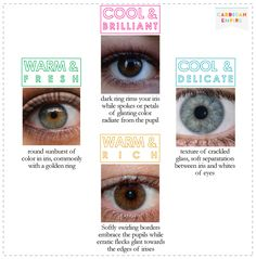 Eye Colour  - Colour Analysis