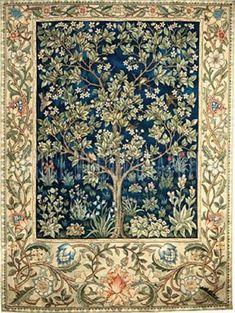 Garden of Delight by William Morris :: artmagick.com