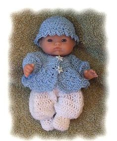 Ravelry: Boys Sweater Set for 5 Inch Berenguer pattern by Amy Carrico