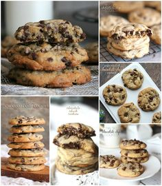 The Best Chocolate Chip Cookies .. a round up of 35 amazing chocolate chip cookie recipes!!