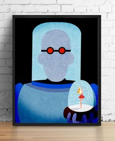{HEART} Mr. Freeze by Nicole Fischer on Etsy