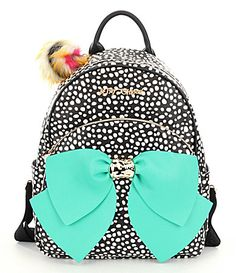 Betsey Johnson Dotted Bow Backpack  Dillards Betsey Johnson Handbags 0cca350311d1a