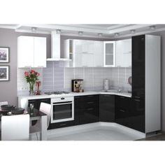 Kuchyňa VALERIA BLACK METAL na mieru
