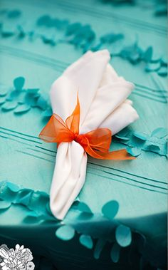 Have done many invitations in this color combo for destination weddings - teal and orange. I love it!