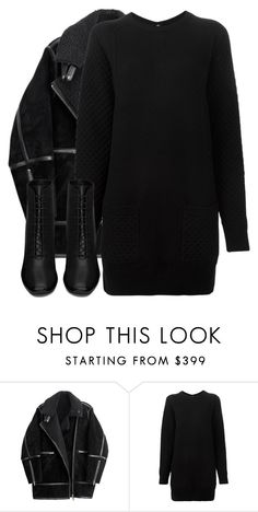 """Untitled #2581"" by elenaday ❤ liked on Polyvore featuring H&M, Proenza Schouler and Yves Saint Laurent"