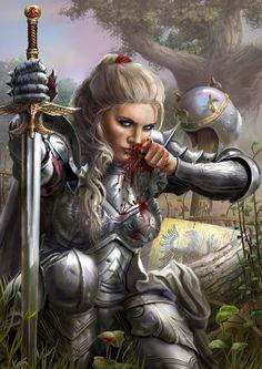 Ideas For Hot Fantasy Art Female Warriors Armors Fantasy Warrior, Fantasy Girl, Fantasy Women, Fantasy Rpg, Medieval Fantasy, Fantasy Artwork, Woman Warrior, Warrior Queen, Fantasy Character Design