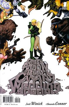 Cover for Green Arrow / Black Canary Wedding Special (DC, 2007 series) #1 [First Printing]