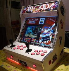 Bartop Arcades for Sale from tinyarcademachines.com