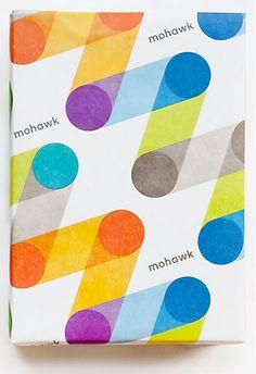 Mohawk logo and brand design by Pentagram Design & Michael McGinn Design Office  |   www.pentagram.com www.mmdesignoffice.com