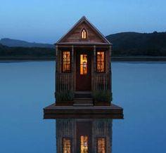 pontoon shack