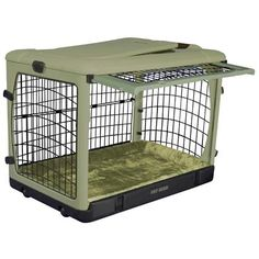 Maybe for Tucker.....The Super Dog Crate with Cozy Bed.