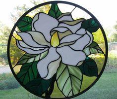 Round Magnolia Panel - by Nanantz. Delphi Artist Gallery