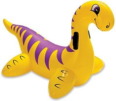 IXTT Small dinosaur mounts on the water ride inflatable toys * You can find out more details at the link of the image.Note:It is affiliate link to Amazon.