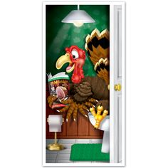 Turkey Restroom Door Cover Party Supplies Canada - Open A Party