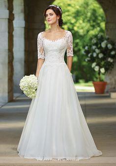 Enchanting by Mon Cheri 117177 A-Line Wedding Dress