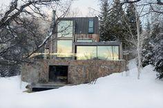 Rústico mistura-se ao luxo em chalé - Casa Vogue | Arquitetura